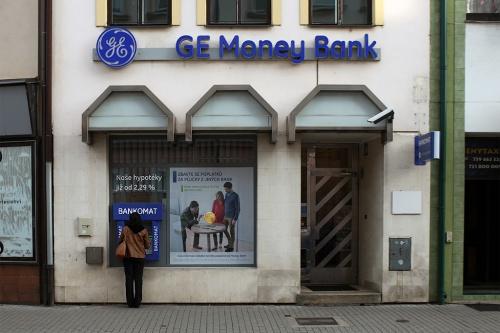 GE Money Bank в Подебрадах (Чехия) / GE Money Bank v Poděbradech