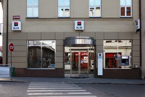 Komerční banka в Подебрадах (Чехия) / Komerční banka v Poděbradech