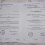 Получена нострификация диплома в Чехии!