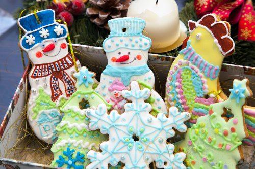 Рождественские пряники, печенье