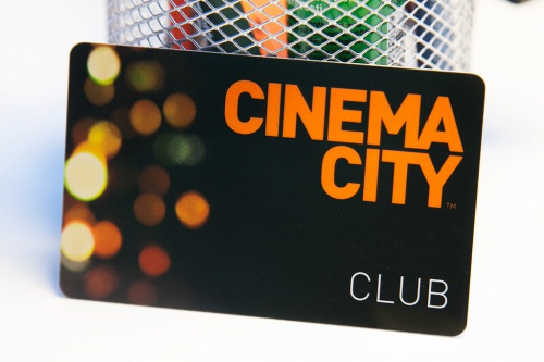 Членская карта Cinema City Club / Karta Cinema City Club