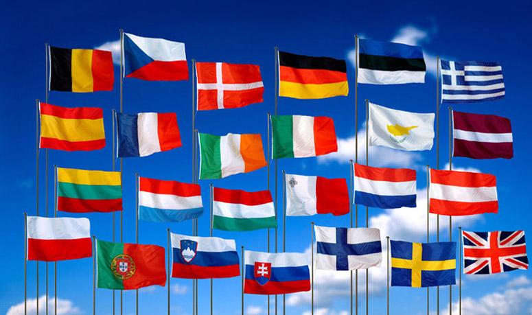 Английский страны мира