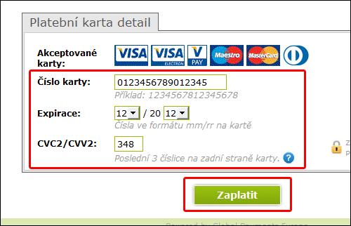 как оплатить картой в интернете