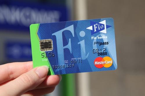 Карта Mastercard Fio banka / Karta Mastercard Fio banky