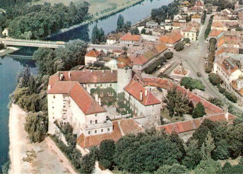 Подебрадский замок (около 1960 года) / Poděbradský zámek (cca 1960)