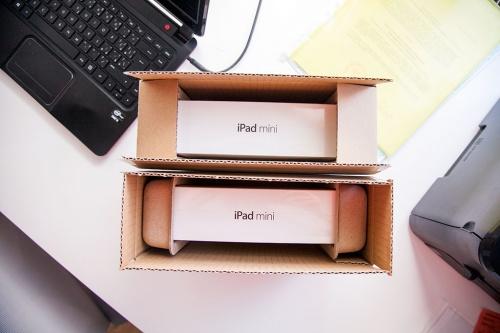 iPad mini Retina в коробке / iPad mini Retina v krabici