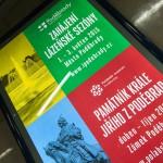 Реклама Подебрад в Праге