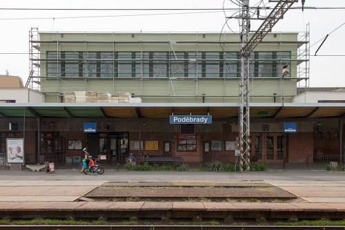 Ремонт вокзала Подебрады / Rekonstrukce nádraží Poděbrady