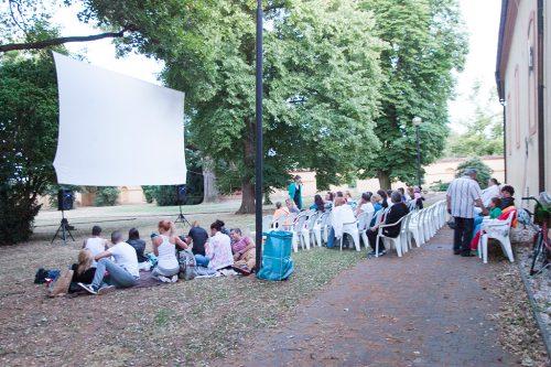 Летнее кино в Подебрадах / Letní kino v Poděbradech