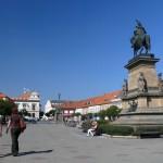Центральная площадь Подебрад