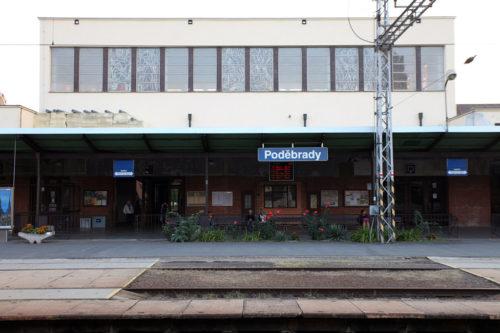 Подебрады, ЖД-вокзал