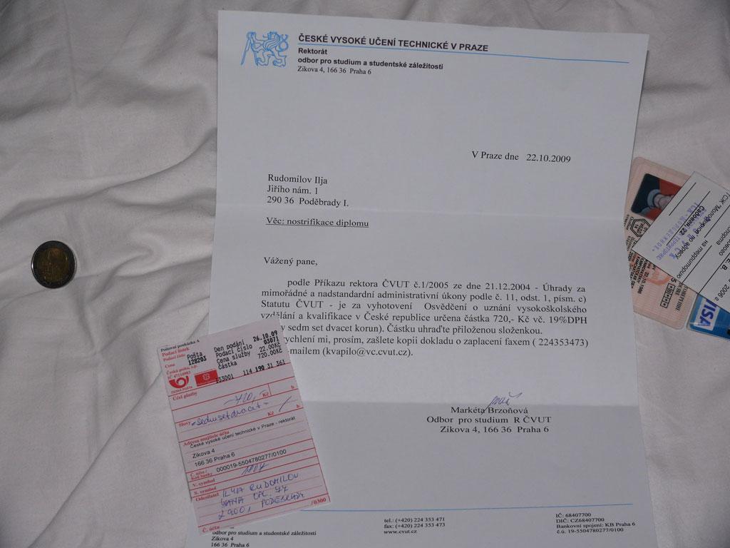 Нострификация диплома Подебрады ру p1060662