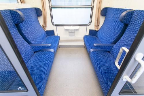Купе в поезде в Чехии