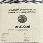Сертификат ÚJOP