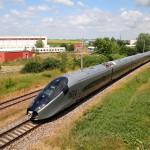Возле Подебрад расположен полигон для скоростных поездов
