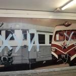 Русские написали на вокзале слово из трех букв