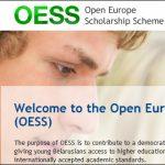 Стипендия OESS для белорусских студентов