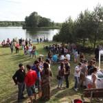 Вечер на озере и вручение сертификатов 8 июня