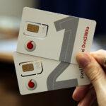 2 сим-карты на один номер и баланс — Vodafone DvojSIMka