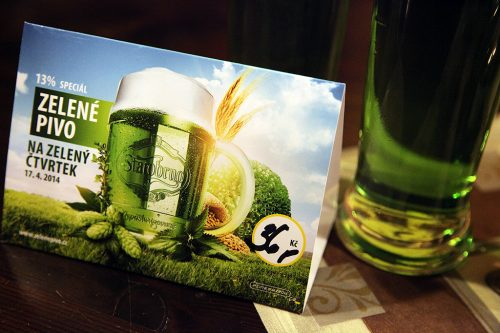 Зеленое пиво Старобрно (Starobrno)