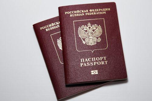 Загранпаспорт РФ / Cestovní pas Ruské federace