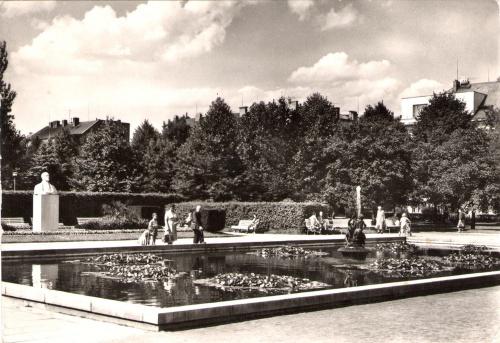Парк в Подебрадах (ок. 1960 года) / Park v Poděbradech (cca 1960)