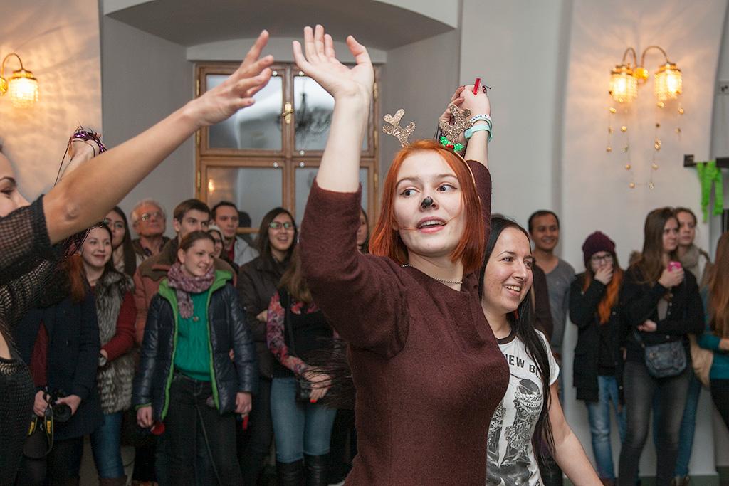 Рождественская вечеринка русских студентов