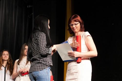 Вручение сертификатов 2015