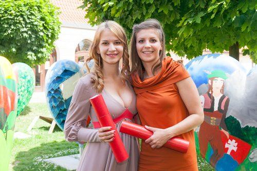 Вручение сертификатов 2015 - UJOP Подебрады Карлова университета