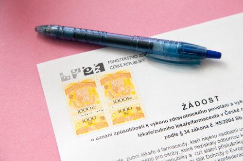 Апробация в Чехии, работа врачом в Чехии