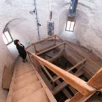 Экскурсия по башне замка с пани Влковой