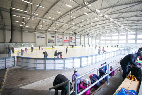 Зимний стадион Подебрады / Zimní stadion Poděbrady
