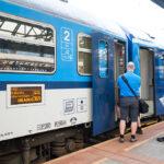 Проездной Подебрады-Прага на ЖД стоит от 752 крон в месяц