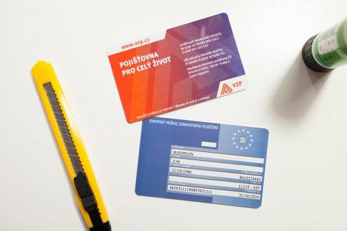 VZP Evropský průkaz zdravotního pojištění - EHIC